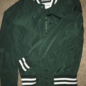 Good fellow Green Varsity Jacket